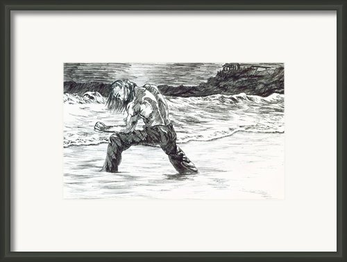 Kata Framed Print By Kd Neeley