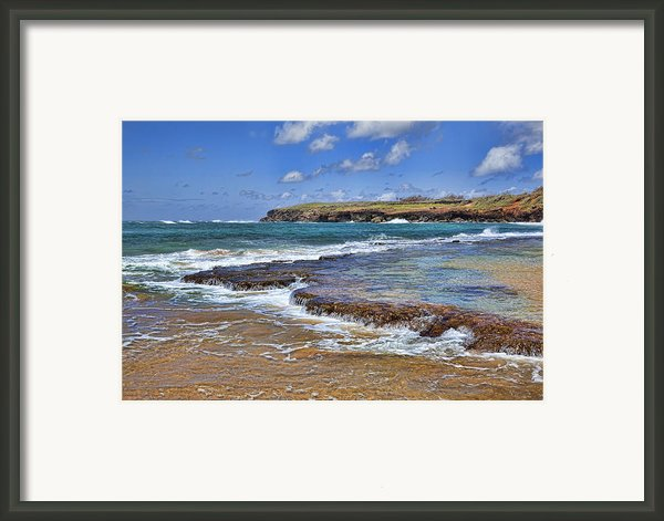 Kauai Beach 2 Framed Print By Kelley King
