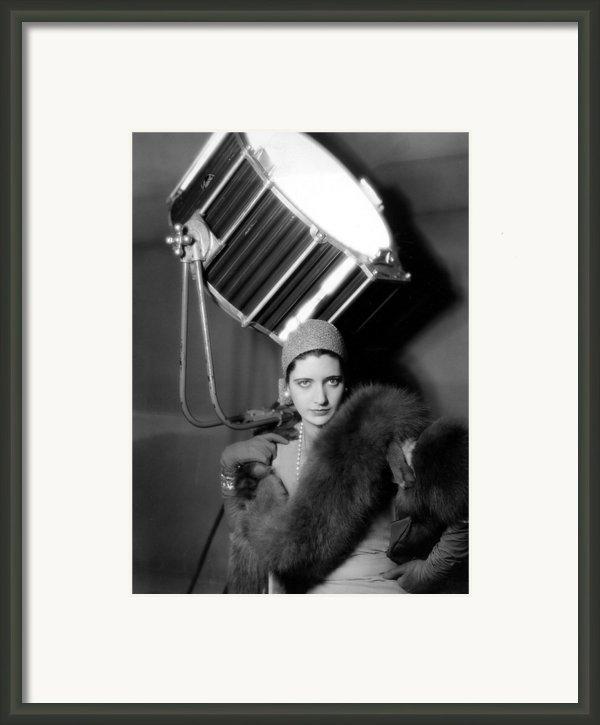 Kay Francis Around 1930 Framed Print By Everett