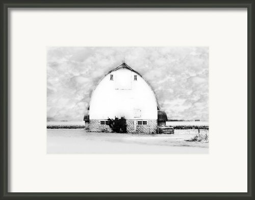 Kays Barn Framed Print By Julie Hamilton