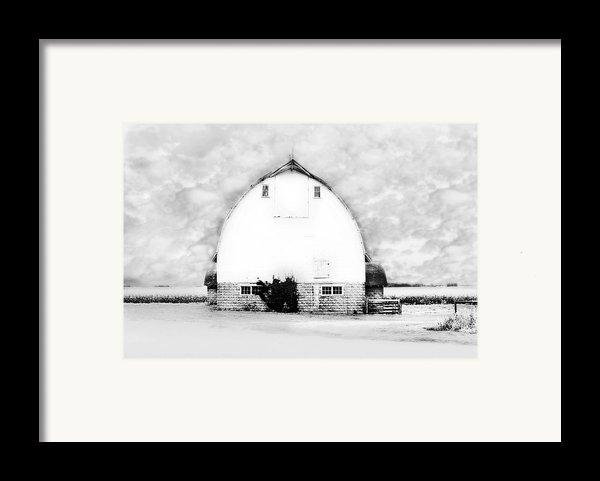 Kays Barn Framed Print By Julie Hamilton