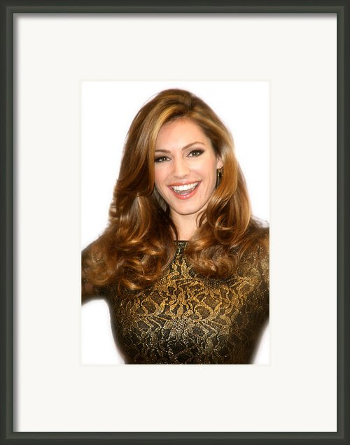 Kelly Brook 2 Framed Print By Jez C Self