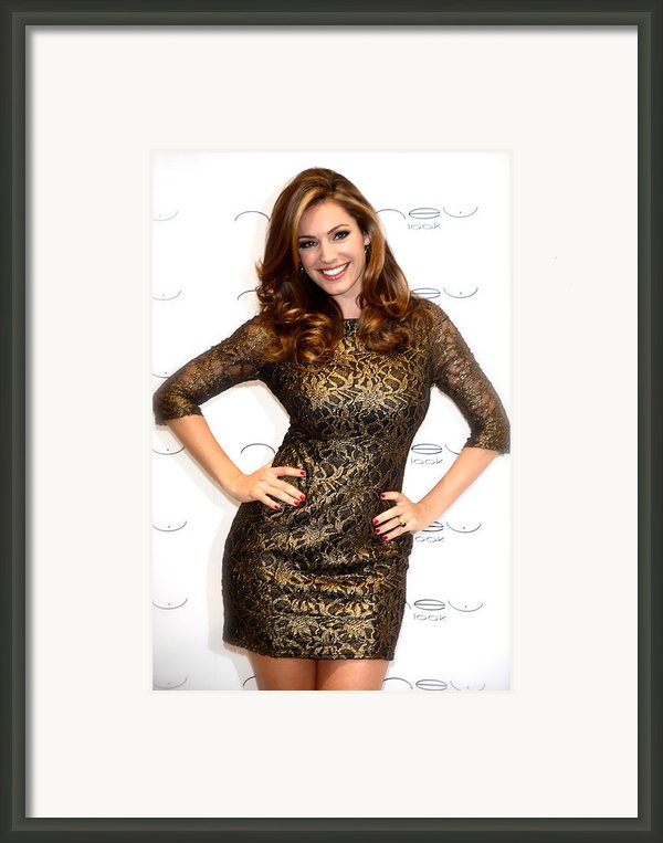 Kelly Brook 3 Framed Print By Jez C Self