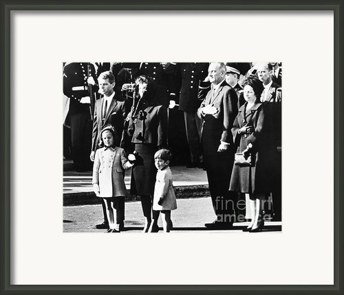 Kennedy Funeral, 1963 Framed Print By Granger