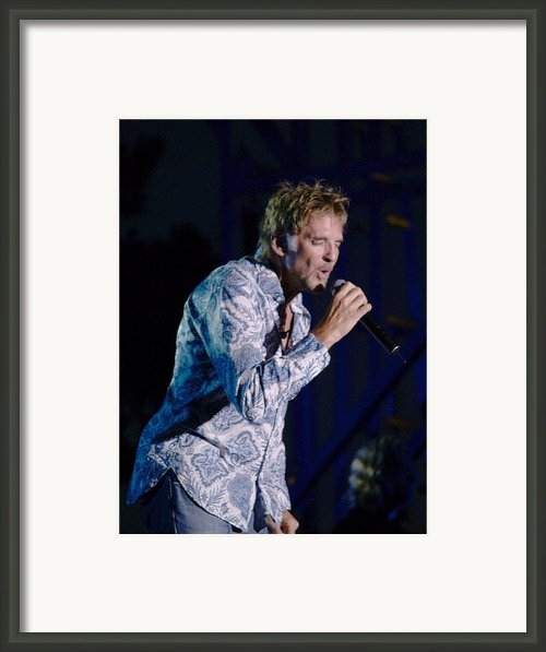 Kenny Loggins Ii Framed Print By Bill Gallagher