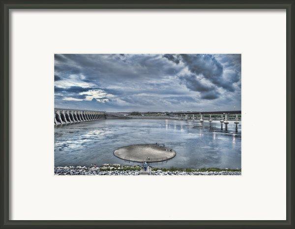 Kentucky Dam Dusk Framed Print By Jim Pearson