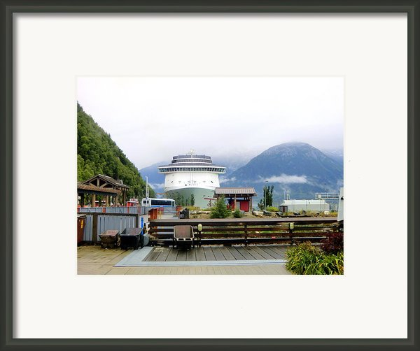 Ketchikan Alaska  Framed Print By Mindy Newman
