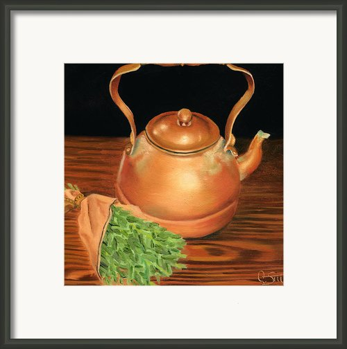 Kettle Framed Print By Dawnstarstudios