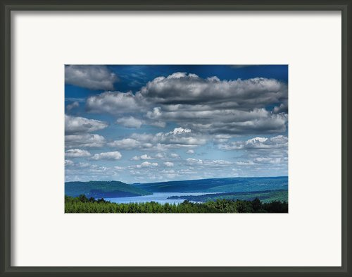 Keuka Landscape Iv Framed Print By Steven Ainsworth