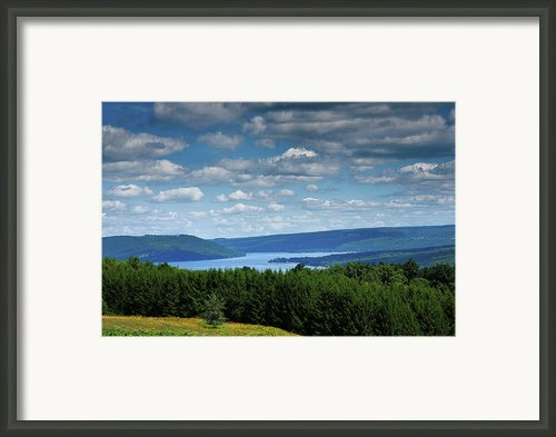 Keuka Landscape V Framed Print By Steven Ainsworth