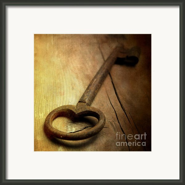 Key Framed Print By Bernard Jaubert
