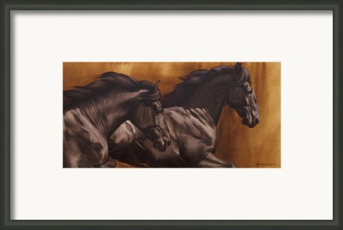 Kick Framed Print By Jq Licensing