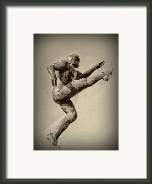 Kick Off Framed Print By Bill Cannon