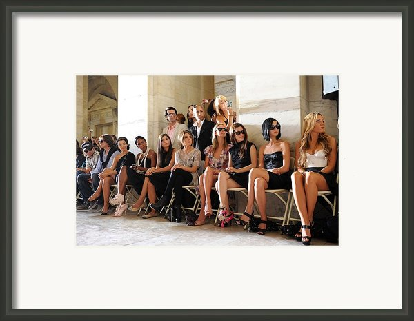 Kim Kardashian, Kelly Rowland, Amanda Framed Print By Everett
