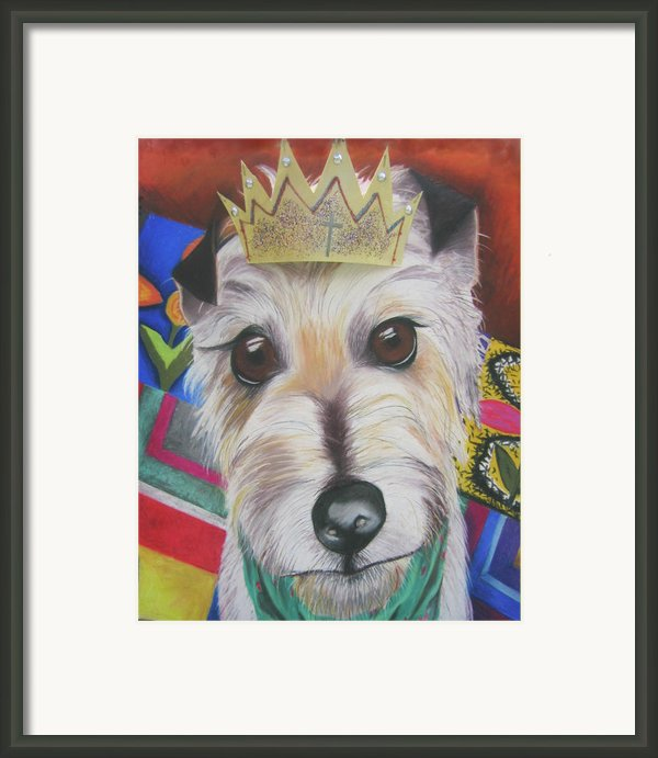 King Louie Framed Print By Michelle Hayden-marsan