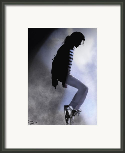 King Of Pop Framed Print By Alicia Mullins