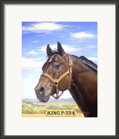 King P234 Framed Print By Howard Dubois