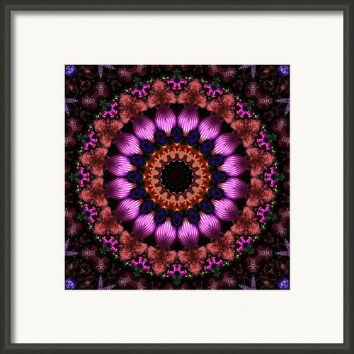 Klassy Kaleidoscope Framed Print By Lyle Hatch