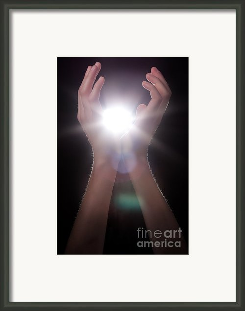 Knowledge Framed Print By Cindy Singleton