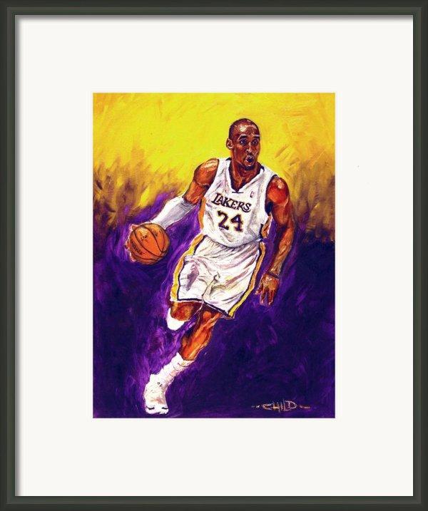 Kobe  Framed Print By Brian Child