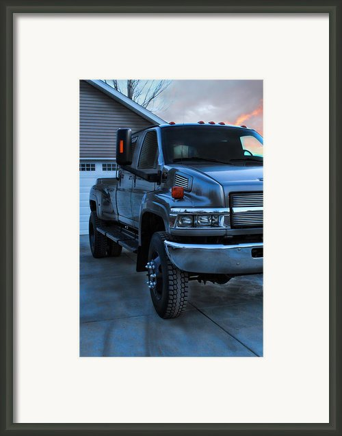 Kodiak Framed Print By Peter Chilelli