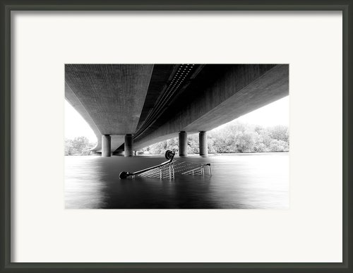 Konsum Flaute Framed Print By Available For Sale
