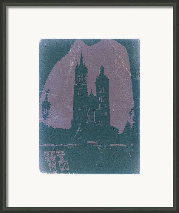 Krakow Framed Print By Irina  March