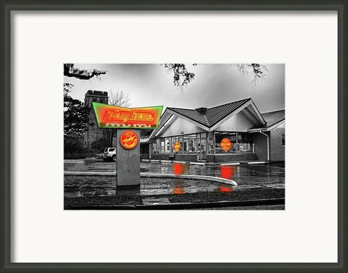Krispy Kreme Framed Print By Michael Thomas