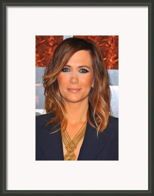 Kristen Wiig In Attendance For The Framed Print By Everett