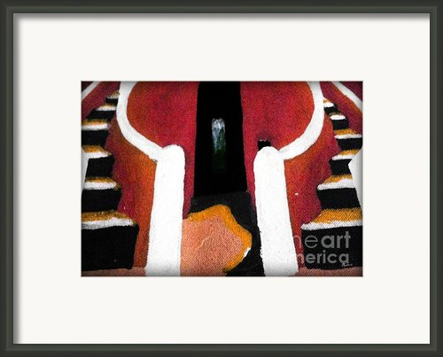 La Maison Des Esclaves - Goree Framed Print By Fania Simon