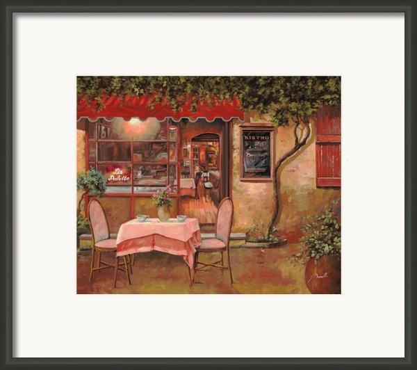 La Palette Framed Print By Guido Borelli