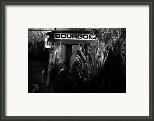 La Recolte De Mais Framed Print By Ed Gold