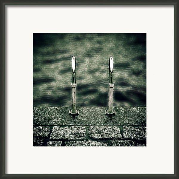 Ladder Framed Print By Joana Kruse