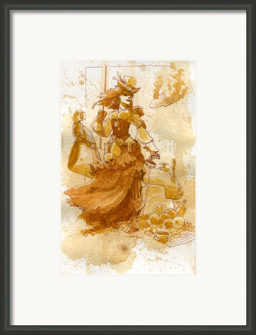 Lady Bonney Framed Print By Brian Kesinger