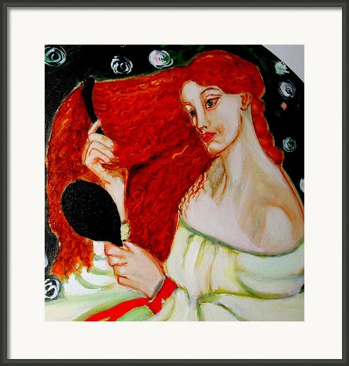 Lady Lilith Framed Print By Rusty Woodward Gladdish