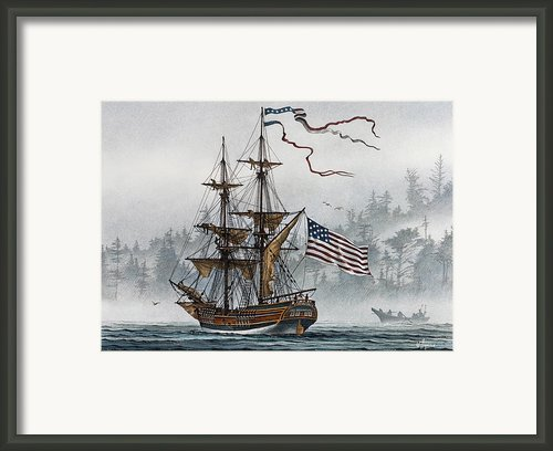Lady Washington Framed Print By James Williamson