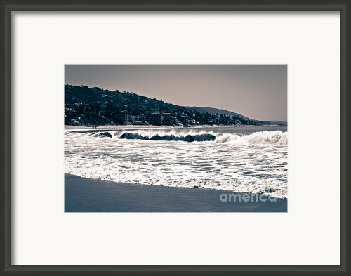 Laguna Beach California Photo Framed Print By Paul Velgos