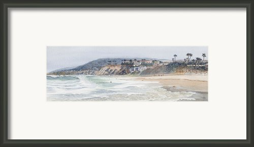 Laguna Beach Framed Print By Tom Dorsz