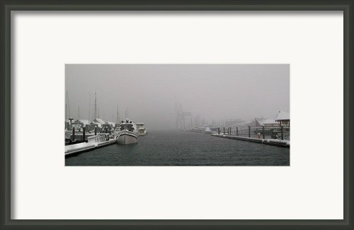 Laid Up Ii Framed Print By Michael Wyatt