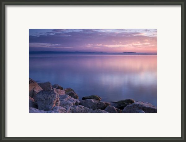 Lake Constance Framed Print By Silke Magino