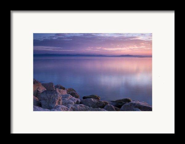 Lake Constance Framed Print By Silke Magino