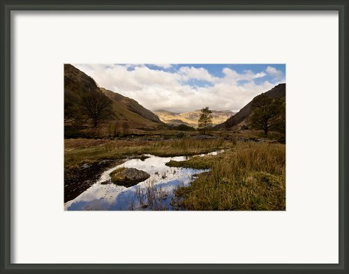 Lake District Reflections Framed Print By Justin Albrecht