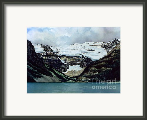 Lake Louise Framed Print By Scott Nelson