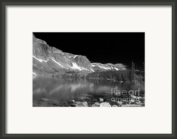 Lake Marie And Company Framed Print By Nena Trapp