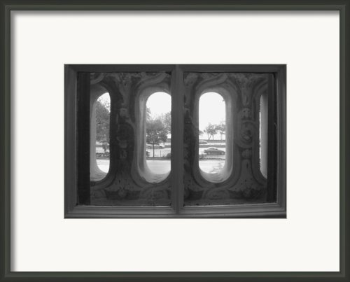 Lake Shore Drive Framed Print By Anna Villarreal Garbis