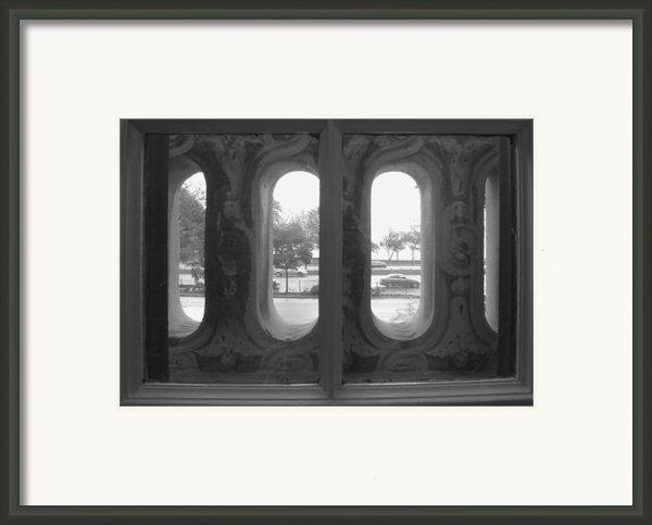 Lake Shore Drive Framed Print By Anna Villarreal Garbis