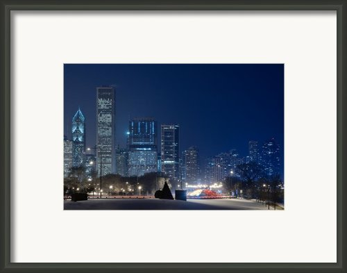 Lake Shore Drive Chicago Framed Print By Steve Gadomski