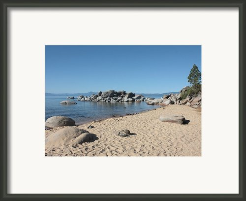 Lake Tahoe Morning Framed Print By Carol Groenen
