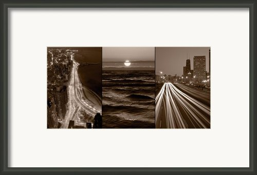 Lakeshore Chicago Framed Print By Steve Gadomski