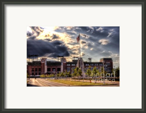 Lambeau Field Awakes Framed Print By Joel Witmeyer